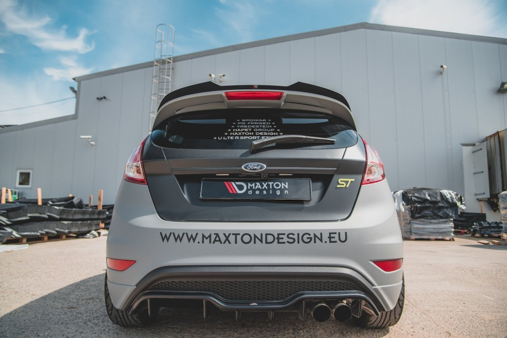 накладка на спойлер FORD FIESTA 7 ST BLACK AND WHITE EDITION FACELIFT фото