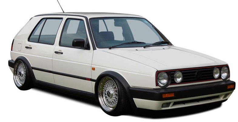 Решётки Volkswagen Golf 2 (1983-1992) фото